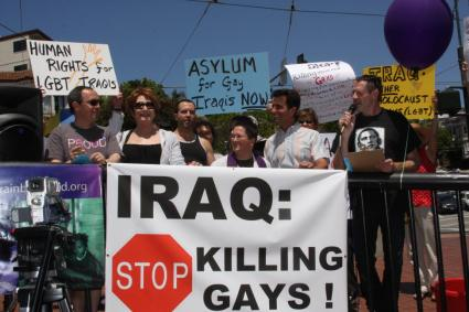 In San Francisco, activists rally to protest the murder of homosexuals in ...