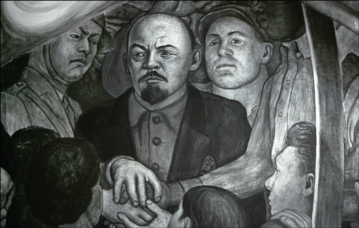 Platypus the relevance of lenin today platypus for Diego rivera rockefeller center mural destroyed