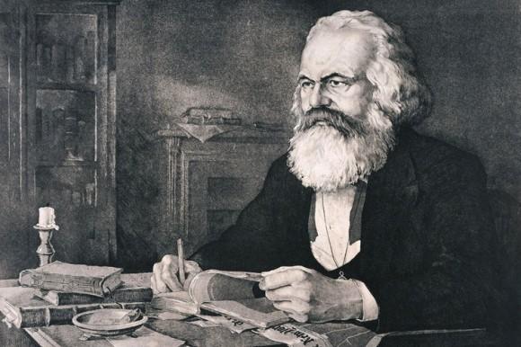 This image has an empty alt attribute; its file name is Karl-Marx-Radierung-Werner-Ruhner-DW-Sport-Casper.jpg
