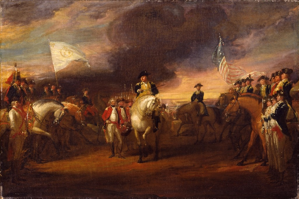 Trumbull-The-Surrender-of-Lord-Cornwallis-at-Yorktown-Goodnight-1024x682