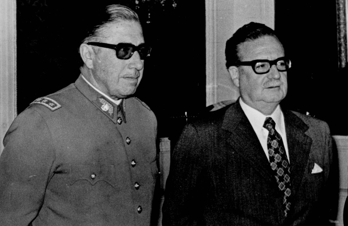 the political career and presidency of salvador allende of chile Nixon and kissinger fiddle and chile burns ad policy on september 4, i watched more than 800,000 chileans parade past the presidential palace, enthusiastically cheering president salvador allende.