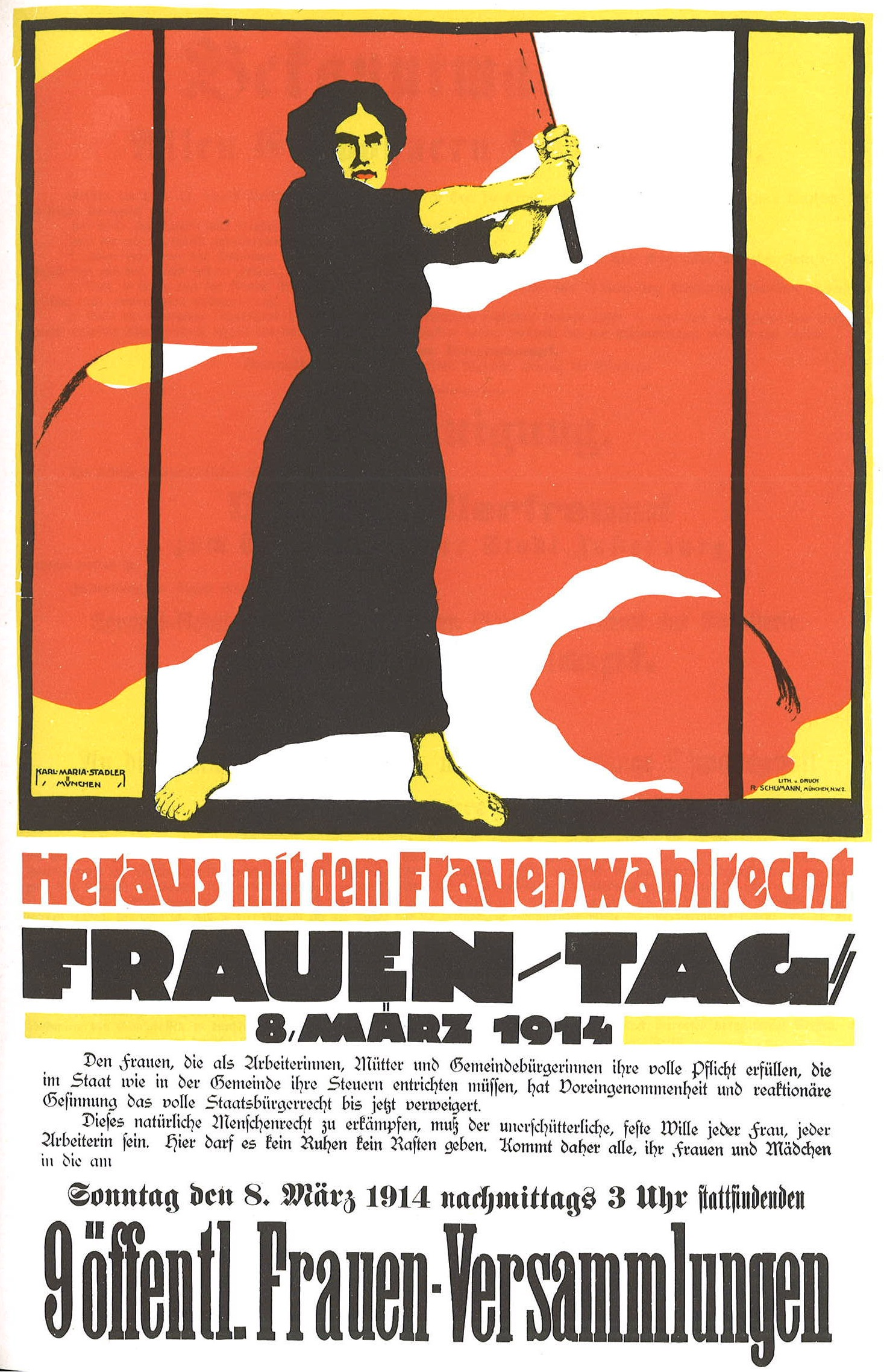 Frauentag_1914-German poster