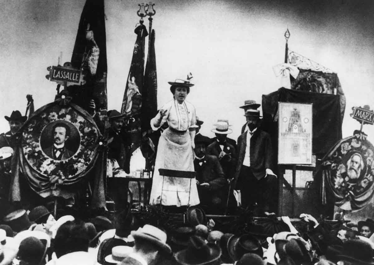 Image result for rosa luxemburg speech
